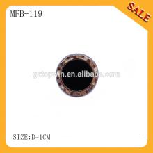 MFB119 boutons-pression en métal perl personnalisé / bouton à ressort pour jeans