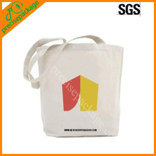 Eco promotional cotton canvas carry bag with printing