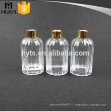 200ml verre vide en gros diffuseur de roseau pour bouteille aromatique