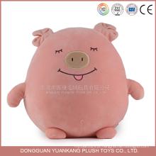 Spandex de 15 cm suave squeaky rosa brinquedo de pelúcia preço de fábrica