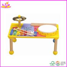 2014 nouveau jouet en bois instrument de musique, musique instrument en bois populaire et vente chaude musique instrument coloré W07A053