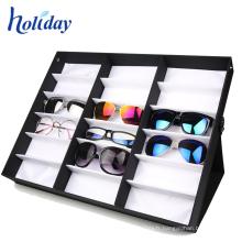 Support ondulé concurrentiel de lunettes de soleil de carton, affichage de lunettes Support de lunettes de soleil de haute qualité