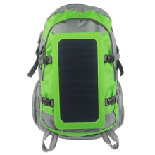 7Watts Solar Power Backpack with Solar Panel Portable Solar Charger for 5V device charged