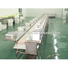 wiping material conveyor/stainless steel food machine/food processing machine /kimich processing machine