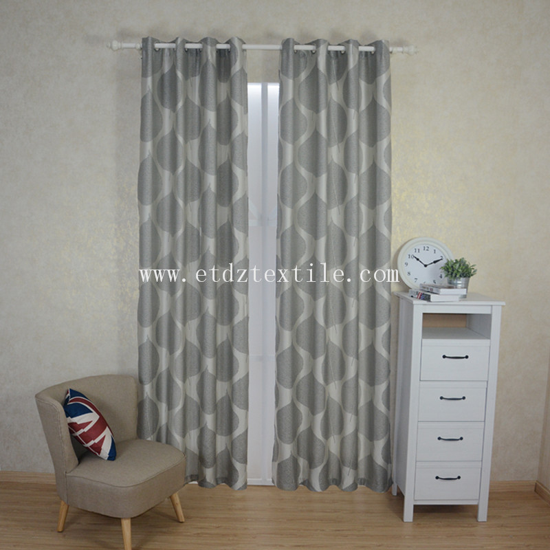 Top Qulaity High Warp Desity Jacquard Curtain Fabric