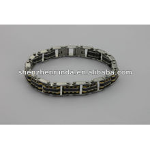 China fabricante, 2014 moda pulsera de acero inoxidable magnético, de alta calidad, los hombres dios pulsera
