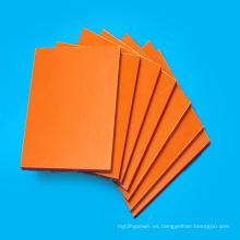 Placa fenólica laminada de papel aislante naranja