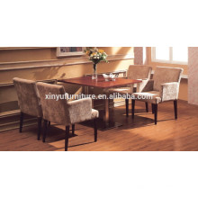 Modern restaurant chair and square table set XYN923