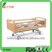 Cama de madeira ajustável à temperatura ambiente com duas funções