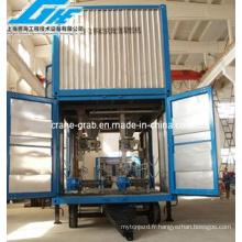 Unité de pesage et d'ensachage mobile en conteneur (DCC-50 / 100II)