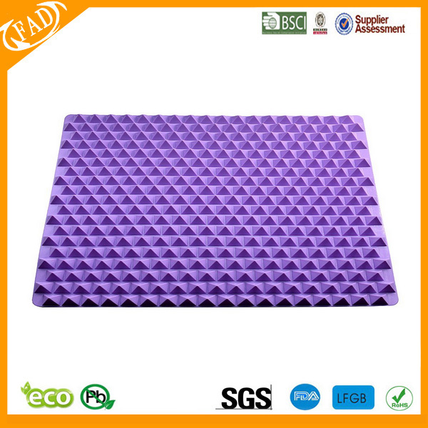 Raised Cone Silicone Baking Mat