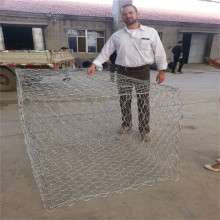 stainless steel woven hexagonal wire mesh gabion box