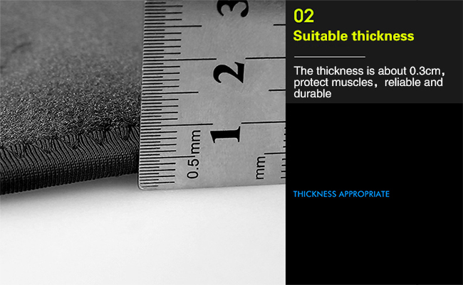 suitable thickness thigh support