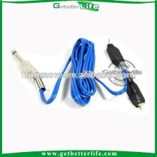 1,8 M bleu commun Clip Cord pour puissance de Machine de tatouage