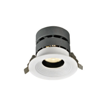 Downlight LED regulable de 15W con forma redonda
