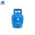 Cilindro de gás Dominica 3 kg mini propano lpg tanque
