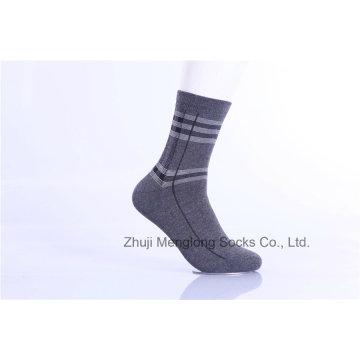 Calcetines de algodón de negocios para hombres Classic Customed Designs