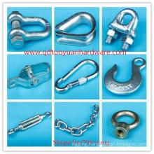 China Factory Supplier Galvanized Manufacturer Rigging Marine Hardware