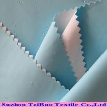 Tecido de Taslon de poliéster de venda quente para Sportwear com revestimento