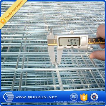 Engranzamento de fio soldado galvanizado ou PVC revestido de ferro