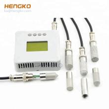 HENGKO waterproof SS 316 L  porous sensor protection housing for grain soil moisture sensor rs485
