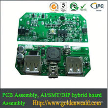 flex pcb assembly circuit pcb assembly Industrial Control PCBA with Though-hole Technology