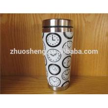 fashionable product stainless steel made in china custom ceramic mug, magic mug, color changing mug