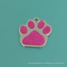 Mode dekorieren Haustier Katze rosa Klaue Tags (B2)