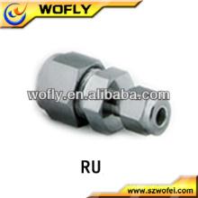 Aço inoxidável de alta qualidade que reduz a união, montagem do tubo de compressão