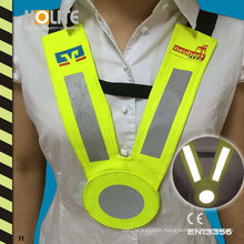 Reflective Collar Vest with CE En3356 for Roadway Safety