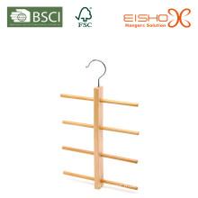 Crochet de cravate en bois (MP618) Suspension en bois