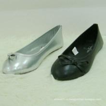 Новая мода черный цвет девушки дети обувь оптовая обувь детей
