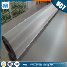 Ultra fine 904L stainless steel woven wire mesh screen for paper making
