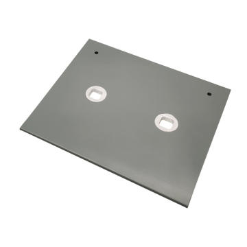OEM Aluminium Punching Base Plate Herstellung & Montage