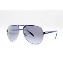 Поляризованные солнцезащитные очки с металлическими моделями с FDA / CE / BSCI (14130)