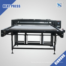 FJXHB4-N Máquina automática de la sublimación neumática Estaciones de trabajo dobles Impresión del calor del formato grande