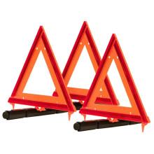Треугольник предупреждения о дорожном движении на дороге