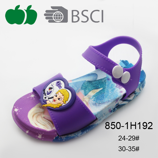 newest design cute girl sandal
