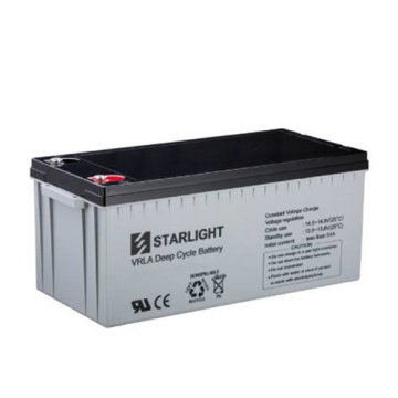 12V DC12-190 VRLA Deep Cycle-Batterien