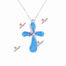 Мода прелести Кристалл Креста ожерелье для рождественских подарков (CPN50824)