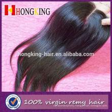 Virgin Hiar Brazilian Closure Human Hair Free Parting Lace Closure