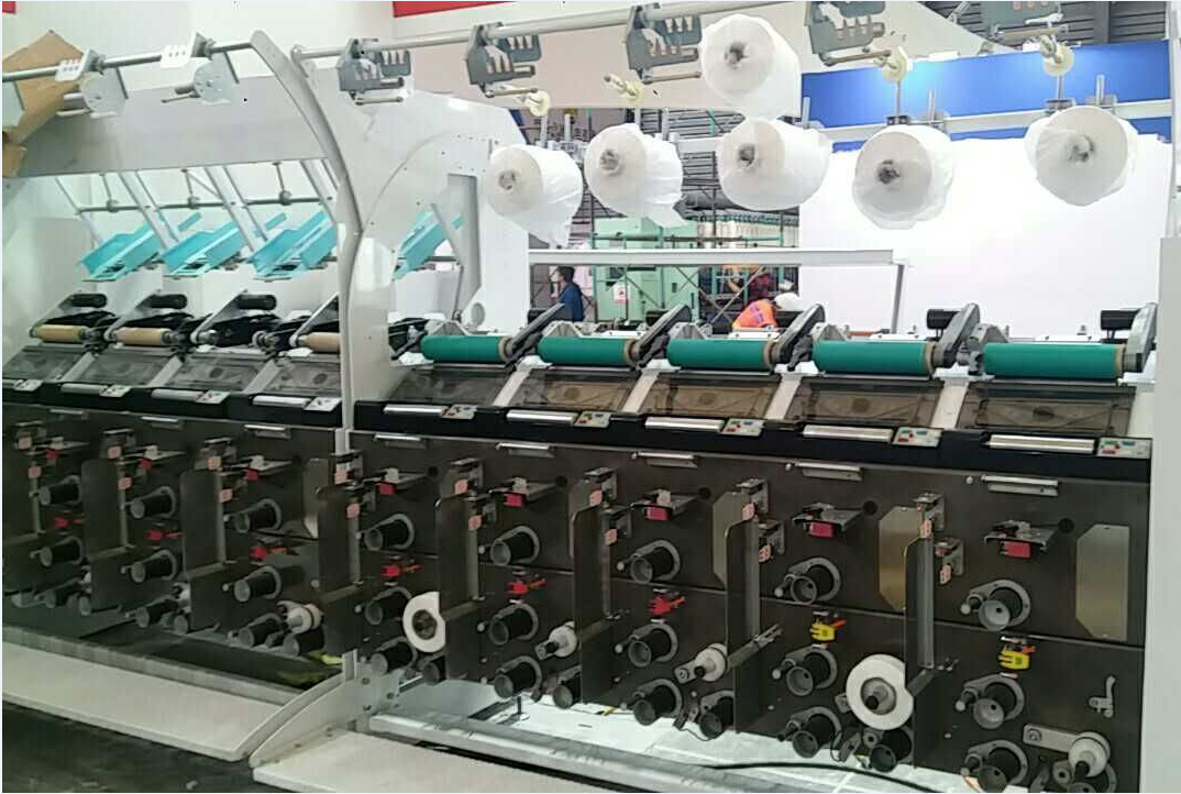 Air Poket Winder Machine
