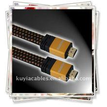 Câble HDMI d'or Premium 1080p pour HDTV