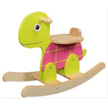 Fábrica de fornecimento de Rocking Horse-madeira tartaruga