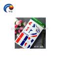 Франция Временный Татуировки Наклейка Переноса Воды Флаг Футбол Поставить Игру
