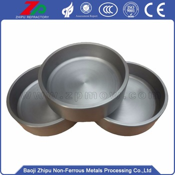 harga forged pure molybdenum crucible