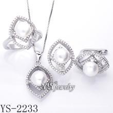 Jóias de Moda Pearl Set 925 Prata