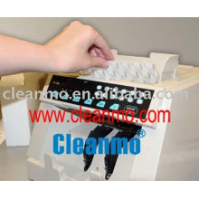 tarjetas de limpieza para el contador de dinero