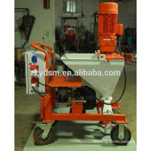 Portable wall mortar spraying machine