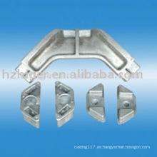parte de la máquina del torno del CNC de la fundición de aluminio